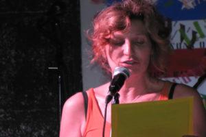 Monica Borra reads an original work