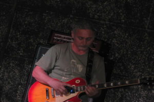 Pino Siciliano performs masterfully on guitar