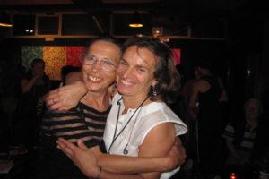 Daniella Missori and Antonella Romeo, two of the principal organizers of the Rome event series