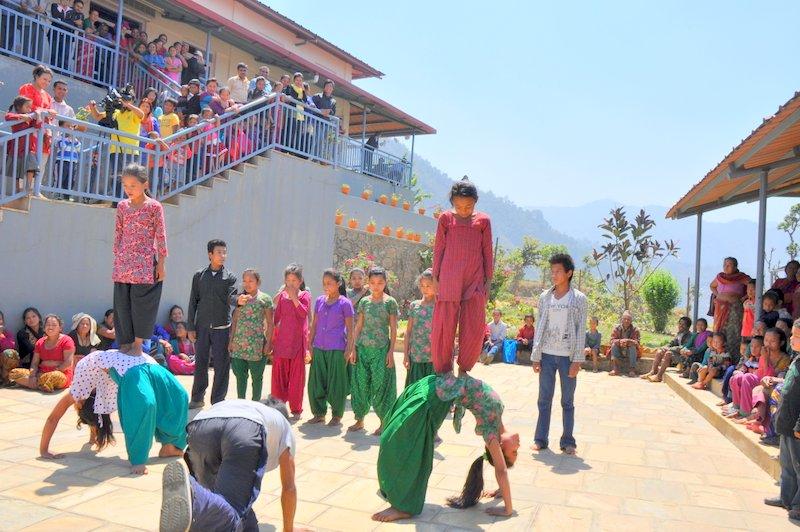 Népal : Food for People fête son 4eanniversaire