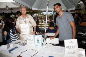 Victor Kamont with Usman Khan (Future VP of The CSUN Peace Club)