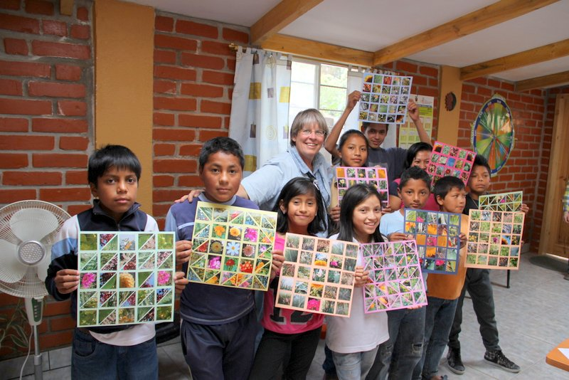 Paragachi Students Show Their Art Projects