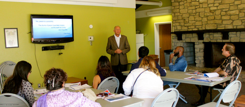 Comienza el primer curso del PEP en una universidad de EE UU