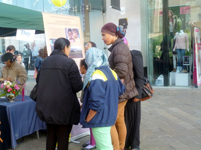 Leicester Peace Day Booth