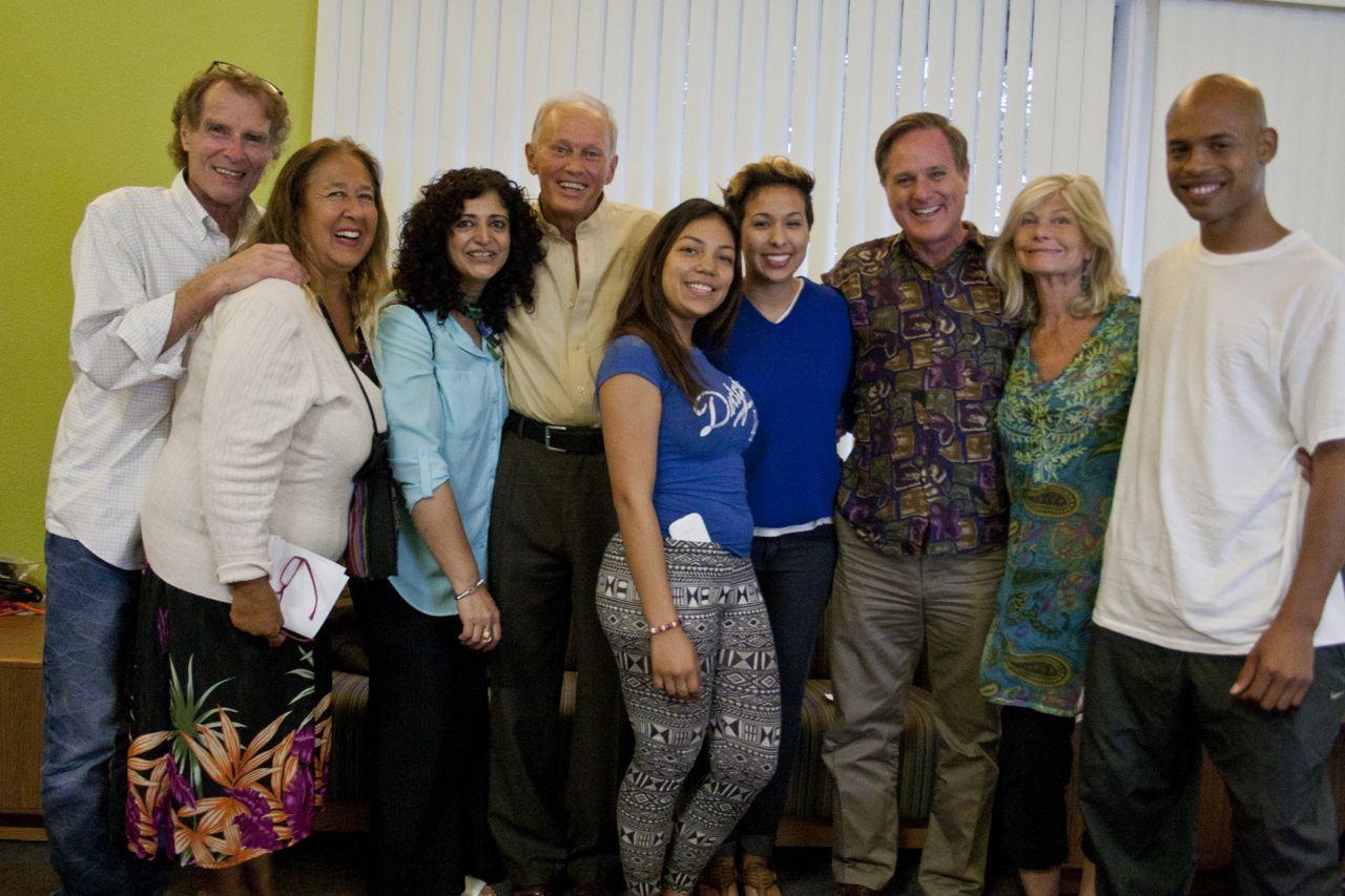 CSUN Peace Club Members and PEP Participants