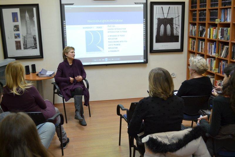 Facilitator and PEP Class in Serbia