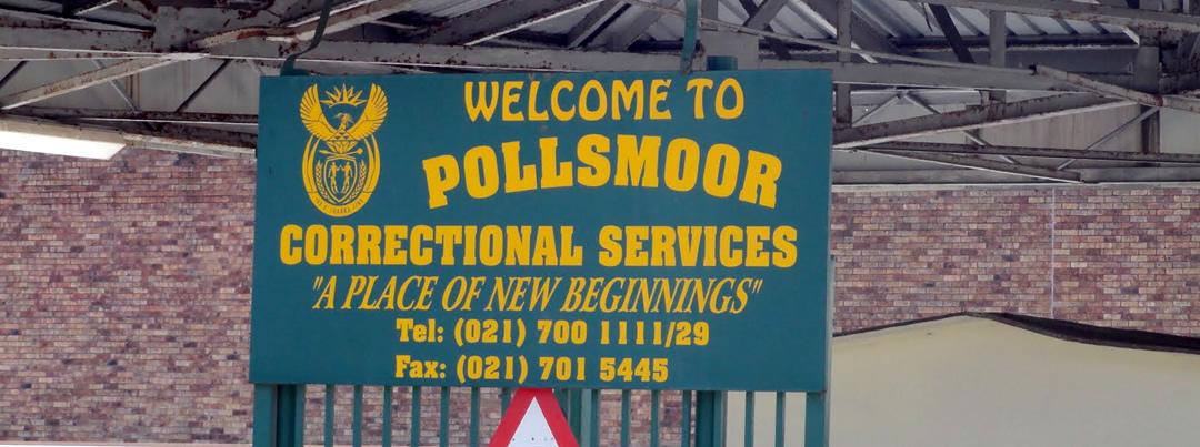 Pollsmoor Prison, Capetown