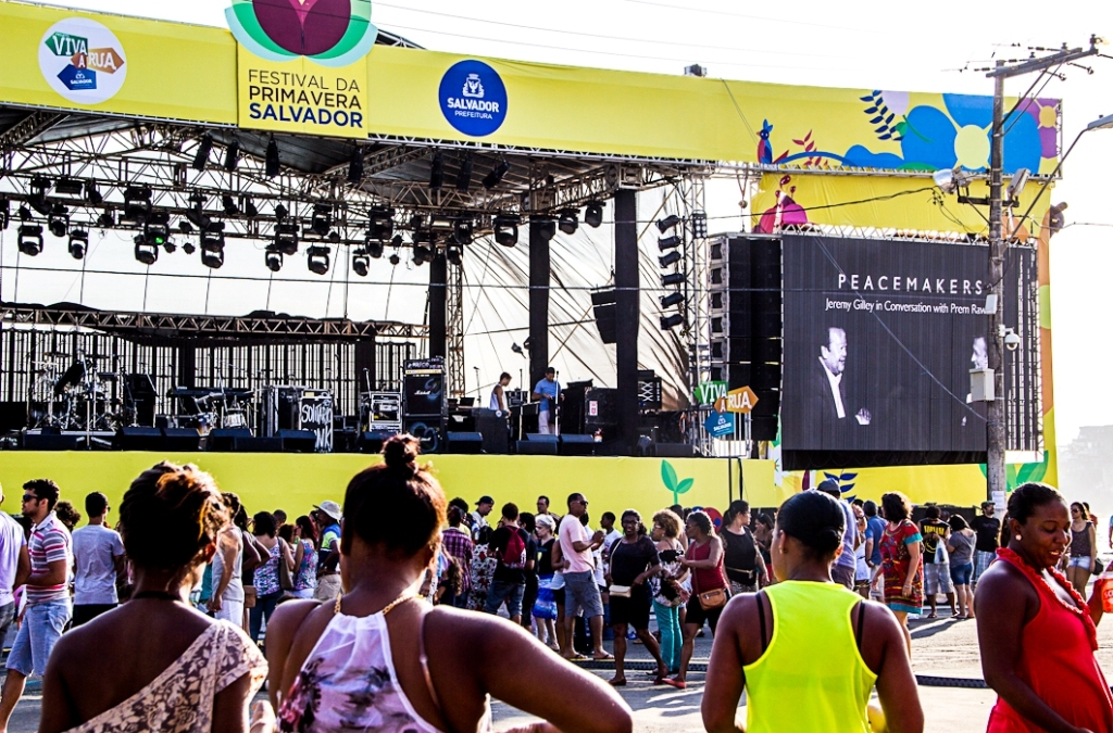 Turning Up the Volume in Brazil for Peace Day