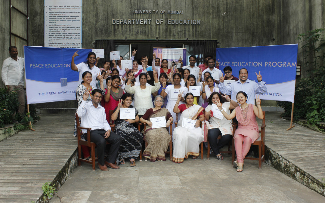 Department of Education at Mumbai University Embraces Peace Education