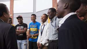 Prem Rawat meets with students in Soweto