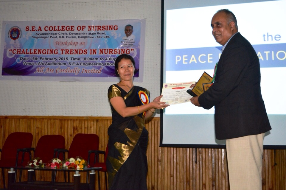 Nursing Schools Embrace Peace Education in Bangalore