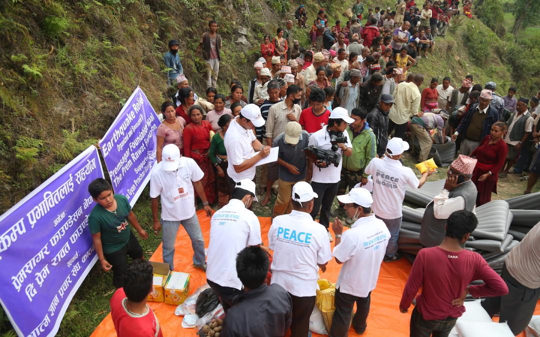 Llegan los suministros a Gorkha y Sindhupalchok