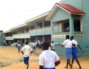 Abigail Awadu's new school in Teshie