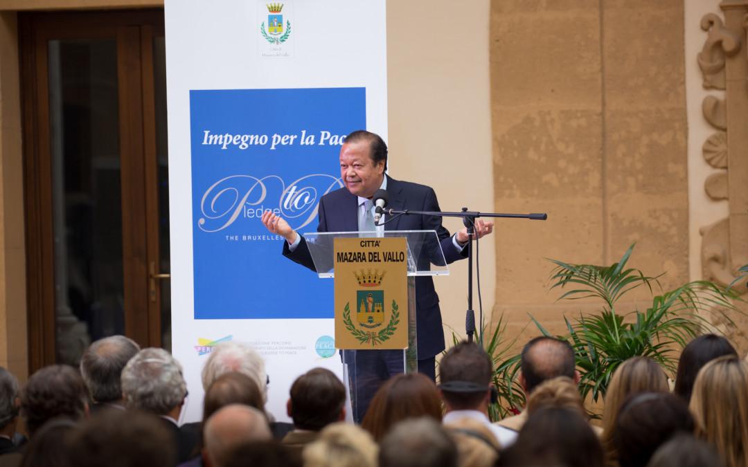 L'Engagement pour la Paix : Prem Rawat s'adresse àdifférents publics en Sicile