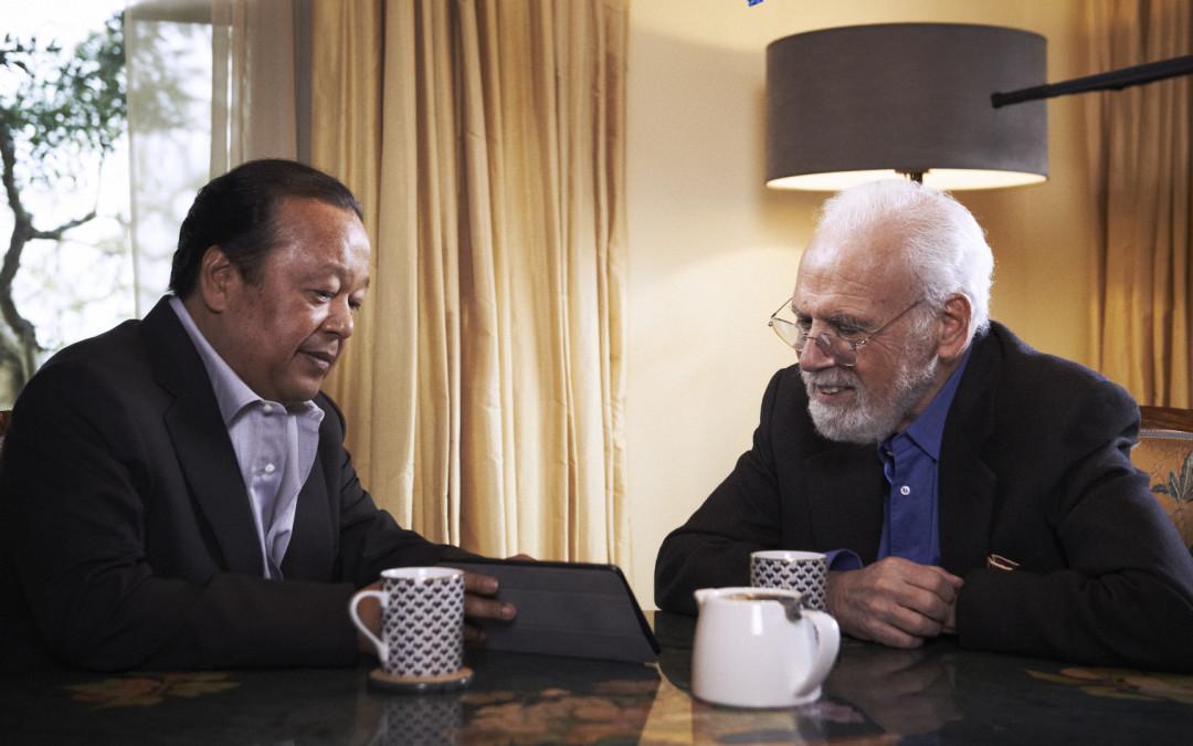 Especial de televisión: «La práctica de la Paz», con Burt Wolf y Prem Rawat