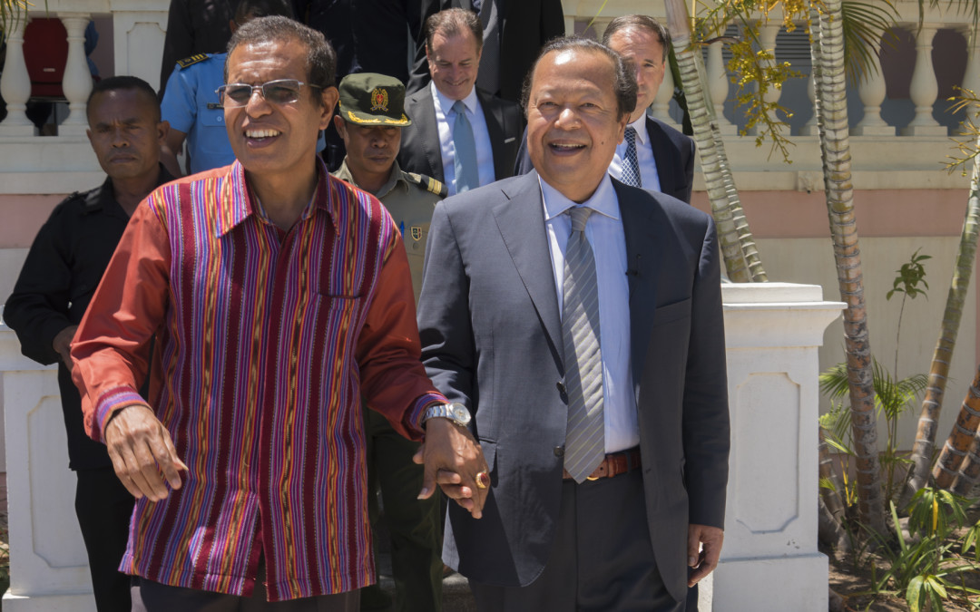 Prem Rawat Brings Message of Peace to War-Torn Country of East Timor