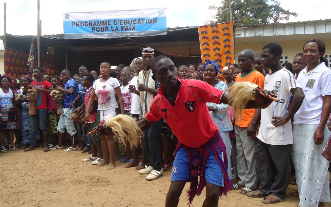 El Programa de Educación para la Paz crece en África Occidental