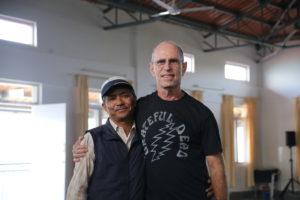 Prem Llama and Bruce Keenan