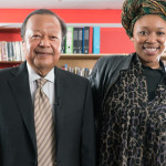 Prem Rawat & Lumka Ngxoli at an interview for Cape Town TV