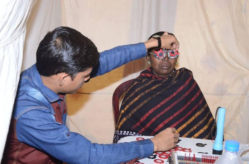 Clear Results: TPRF Eye Clinics Serve Thousands in India