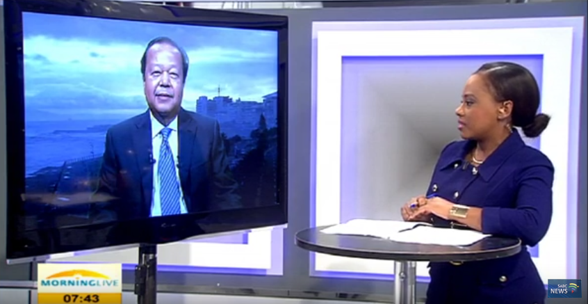 Video: South African Broadcasting Features Prem Rawat, Peace Education