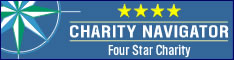 Charity Navigator gives The Prem Rawat Foundation four stars, it's highest mark