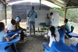 Emergency shelter school classrooms