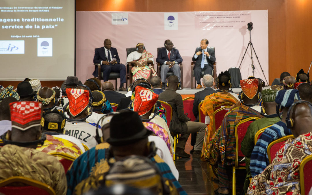Côte d'Ivoire Forum: Traditional Wisdom in Service to Peace