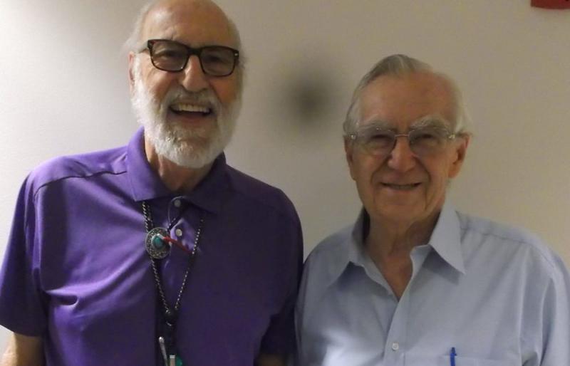 Pat Sapio (left) and Luigi Persichetti