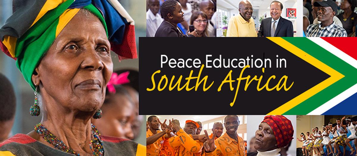 Éducation à la paix en Afrique du Sud