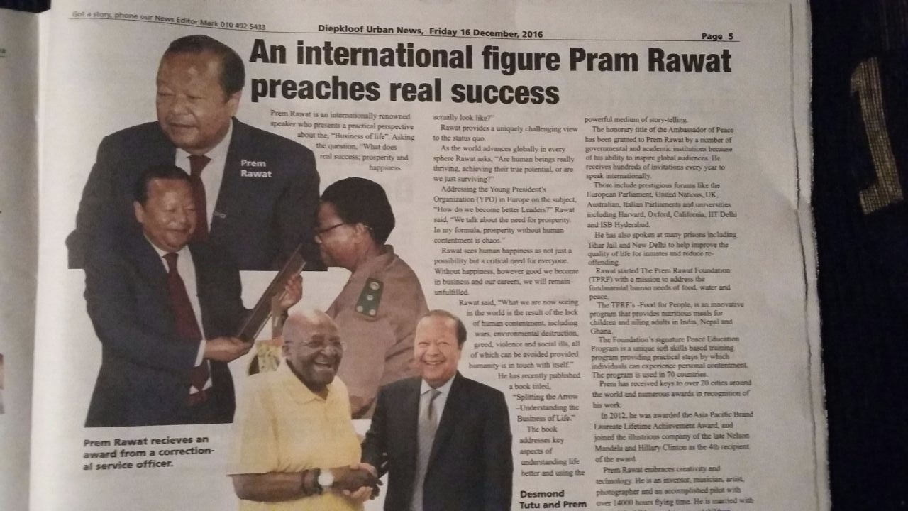 South Africa press clip