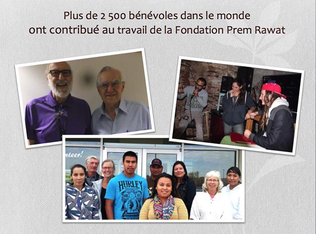 TPRF remercie les donateurs et présente les réalisations de l'année 2016