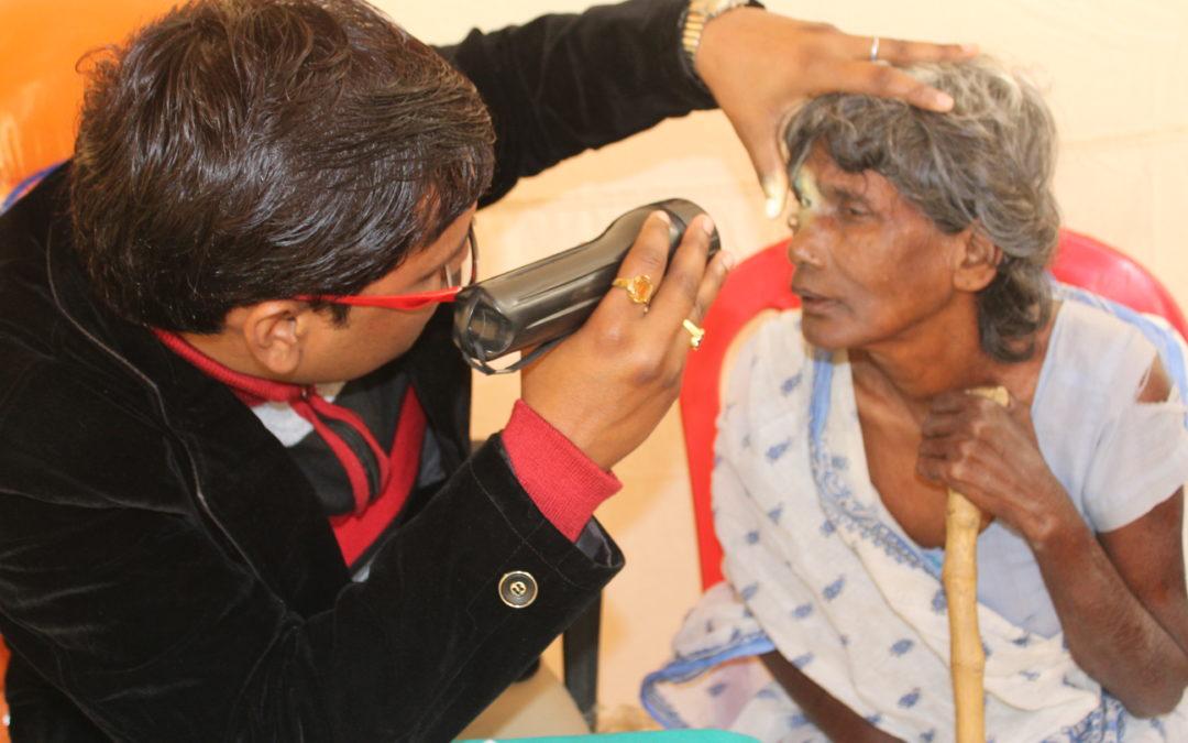 Dispensaires ophtalmologiques ambulants en Inde: uneéclaircie dans la vie des gens