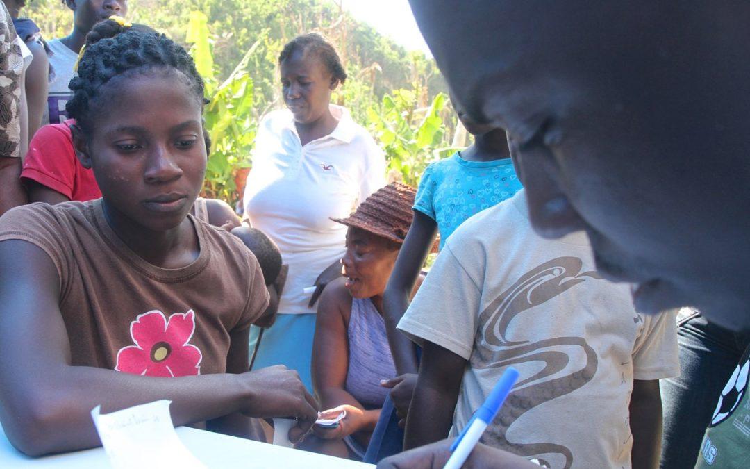 La Fondation Prem Rawat aide les rescapés del'ouragan en Haïti