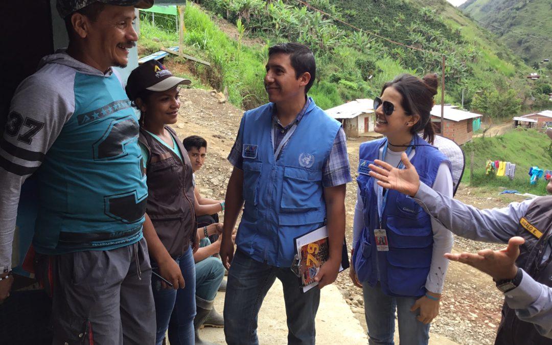 L'effet PEP en Colombie: «Il faut désarmer les cœurs»