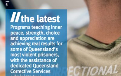 Corrections News Covers Success of Peace Education in Queensland, Australia