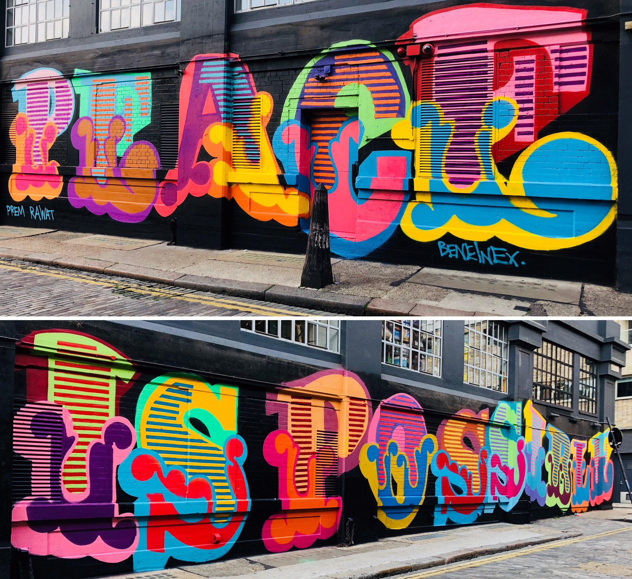 Peace is Possible: Ben Eine, Prem Rawat Partner on London Mural