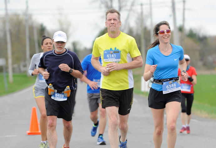 Stephen de Lorimier Runs Marathons to Make a Difference