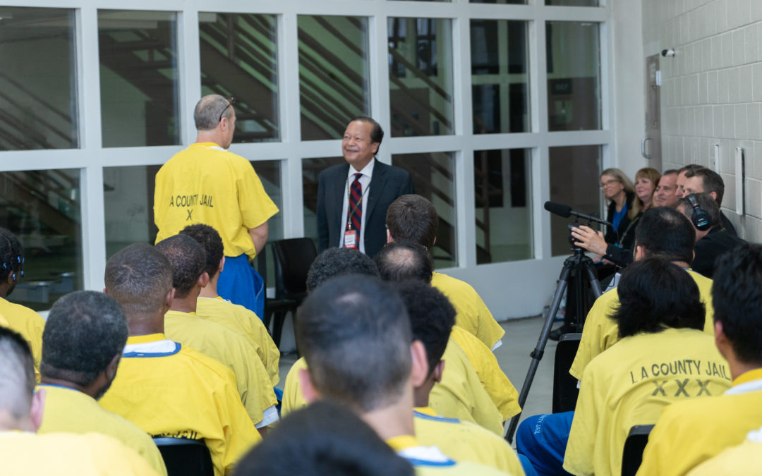 Prem Rawat Speaks to U.S. Inmates in Peace Education Program