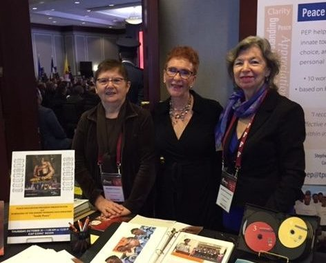 Peace Education Wins Praise at International Corrections & Prisons Conference