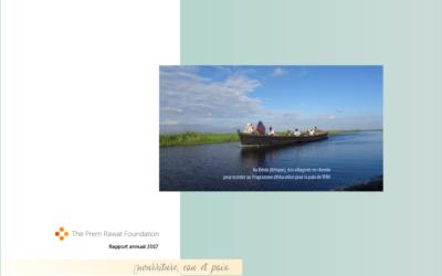 Rapport annuel de la Fondation Prem Rawat: lesactions menées en 2017