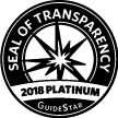 Guidestar gives The Prem Rawat Foundation a Platinum Seal of Transparency, the highest designation