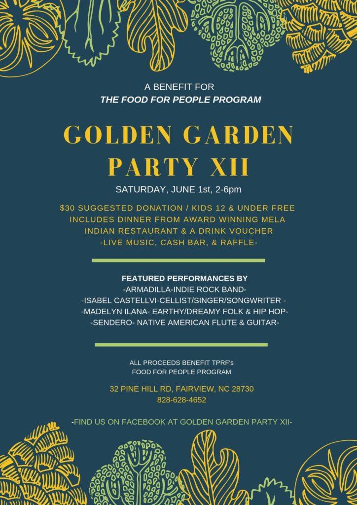 Garden Party poster 2019