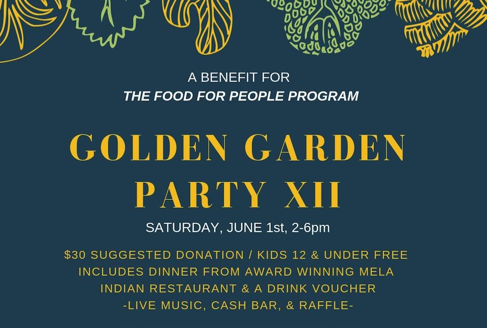 """Festa popolare: """"Il 12° Golden Garden Party"""" a sostegno dei bambini bisognosi"""