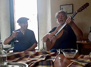 Tarifa, Spain TPRF fundraiser guitar