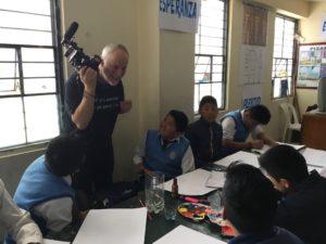 Cusco Perú educazione alla pace Simon