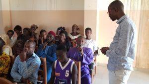 Benin Peace Education Program facilitation