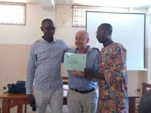 Benin Peace Education Program Gerard Rachidi