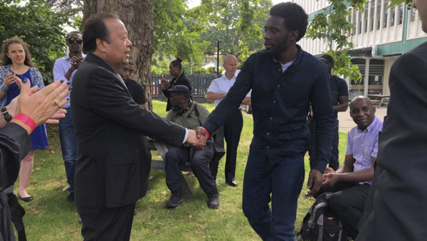 "Prem Rawat - Conférence ""Peace is Possible"" - Londres"