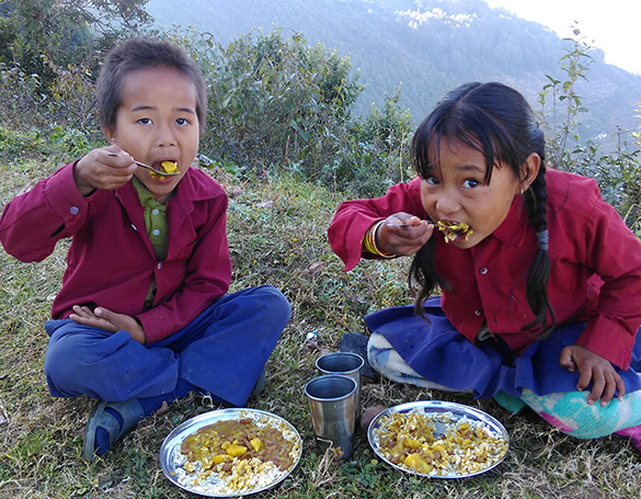 TPRF, Food For People, Tasarpu, Dhading, Nepal